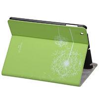 Чехол Smart-cover для Apple iPad 2/3/4, зеленый с рисунком