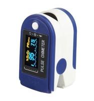 Пульсоксиметр, цветной OLED дисплей