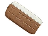 Флип-кейс на Samsung S3 Dicase, brown/white style 3