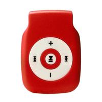 MP3-плеер, microSD, (без кабеля, без наушников), красный