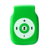 MP3-плеер, microSD, (без кабеля, без наушников), зеленый