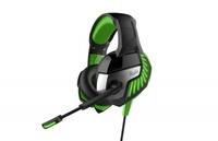 Гарнитура проводная, 3,5мм, игровая, Smart Buy RUSH CRUISER, полноразмерная, LED подсветка, черный