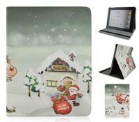 Чехол Smart-cover для Apple iPad 2/3/4, кожа, marry christmas