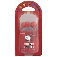 Наушники Smart Buy COLOR TREND, вакуумные, 1.2 м, красный (SBE-3300)