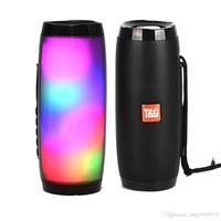 Портативная колонка, T&G TG-157, Bluetooth, USB, mSD, AUX, FM, подсветка, черный