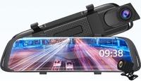 "Видеорегистратор зеркало с камерой заднего вида E-ACE A35, SHD, 10.0"", сенсор, GPS(опц.)"
