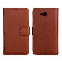 Чехол-книжка на LG Optimus L9 II D605 кожа, коричневый