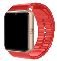 Смарт-часы GT08, microSim, 240*240 TFT, BT, 0,3Mp cam, microSD, красный