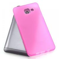 Чехол-накладка на Samsung (A510) (2016) силикон, матовый, розовый