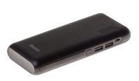 Портативный аккумулятор PowerBank 12750mAh, Buro RC-12750, 2xUSB, LCD, черный