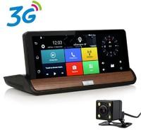 "Видеорегистратор 2в1,TDS TS-CAR04 , Android 5.1, FHD, 7.0"", GPS, 3G, Wi-Fi, FM-модулятор, камера зад"