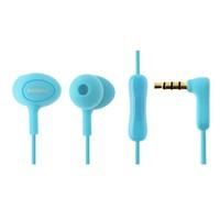 Гарнитура проводная, 3,5мм, Remax RM-515, вакуумная, 1.2 м, синий