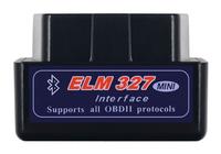 Диагностический сканер ELM327 OBD2 v.1.5/2.1, Bluetooth, VSTM, черный (без гарантии)