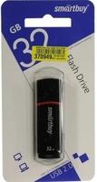 Память USB 2.0 Flash, 32GB, Smart Buy Crown Black COMPACT