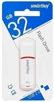 Память USB 2.0 Flash, 32GB, Smart Buy Crown White COMPACT