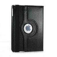 Чехол Smart-cover для Apple iPad Air, кожа, вращающийся, черный