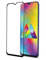 Защитное стекло для Samsung Galaxy M20 (2019) на дисплей, с рамкой, черный