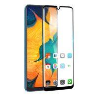 Защитное стекло для Samsung Galaxy M20 (2019) на дисплей, с рамкой, 4D, черный
