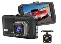 """Видеорегистратор с камерой заднего вида E-ACE PD02, FHD, IPS 3.0"""""""