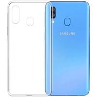 Чехол-накладка на Samsung A40 (A405) (2019) силикон, ультратонкий, прозрачный