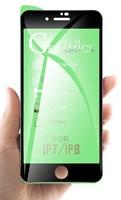 Защитное керамическое стекло для Apple iPhone 6/6S, 5D, черный
