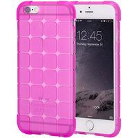 Чехол-накладка на Apple iPhone 6/6S, силикон, quad, розовый