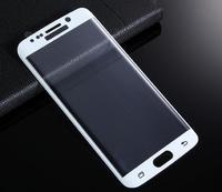 Защитное стекло Samsung Galaxy S7 Edge на дисплей, 3D, белый