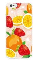Чехол-накладка на Apple iPhone 6/6S, силикон, colorfull, fruit