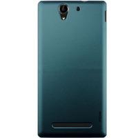 Чехол-накладка на Sony Xperia C3, пластик, зеленый