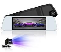 """Видеорегистратор зеркало с камерой заднего вида JADO D560, FHD, TFT 7.0"""", черный"""