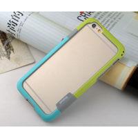 Бампер на Apple iPhone 5/5S, силикон, Walnutt, зелено-бирюзовый