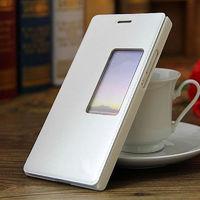 Чехол-книжка для Huawei Honor 6 полиуретан, SView, белый