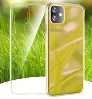 Чехол-накладка на Apple iPhone 11, силикон, ультратонкий, прозрачный