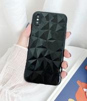 Чехол-накладка на Apple iPhone 11 Pro, силикон, кристаллы, черный