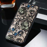 Чехол-накладка на Apple iPhone 7/8 Plus, пластик, полупрозрачный, узор 1