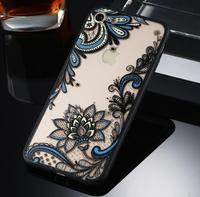 Чехол-накладка на Apple iPhone 7/8 Plus, пластик, полупрозрачный, узор 5