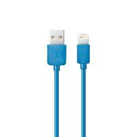 Кабель для iPhone 8pin, Remax Light RC-006i, 1м, голубой