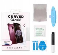 Защитное стекло Samsung Galaxy S8 Plus на дисплей, 4D, Full Glue, Friendly Case, UV, прозрачный