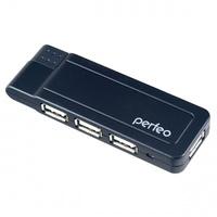 USB-хаб 2.0, Perfeo PF-VI-H021, 4 порта, черный