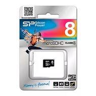 Карта памяти MicroSDHC 8GB Silicone Power, Class 4 (без SD адаптера)