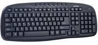 Клавиатура беспроводная Perfeo Ellipse (PF-5192), USB, мультимедиа, черный