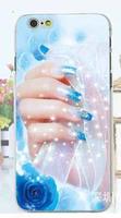 Чехол-накладка на Apple iPhone 5/5S, пластик, wedding style, #4