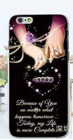 Чехол-накладка на Apple iPhone 5/5S, пластик, wedding style, #5