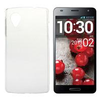 Чехол-накладка LG Google Nexus 5, пластик, прозрачный