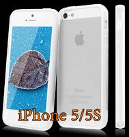 Чехол-накладка на Apple iPhone 4/4S, силикон, пластик, бампер, белый