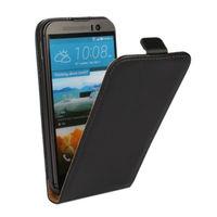 Флип-кейс на HTC One M9 кожа, черный
