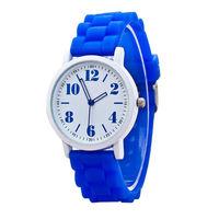 Часы наручные Noname, ц.белый, р.синий, силикон