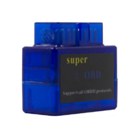 Диагностический сканер ELM327 OBD2 v.1.5, Bluetooth, jFind long, синий (без гарантии), bpack