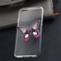 Чехол-накладка на Huawei G610 силикон, ультратонкий, бабочка