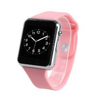 Смарт-часы W8, microSim, 240*240 TFT, BT, 0,3Mp cam, microSD, розовый